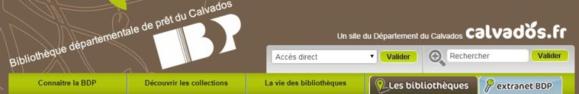 Partenariat : Bibliothèque du Calvados