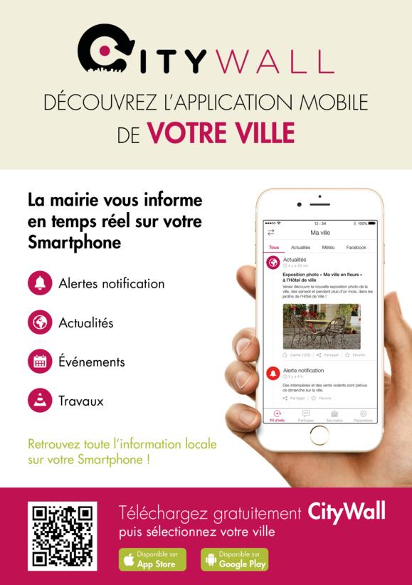 La mairie vous informe en temps réel sur votre Smartphone avec CITYWALL