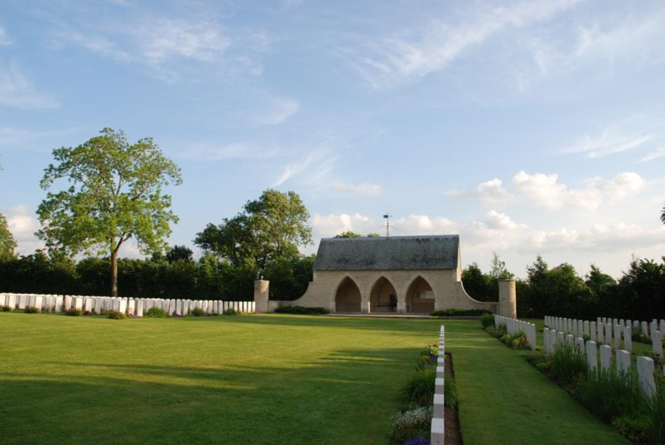 Le cimetière britannique