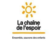 La chaîne de l'espoir - Campagne de porte à porte à Hermanville-sur-Mer