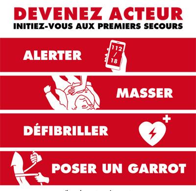 """Campagne d'intiation """"aux gestes qui sauvent"""""""
