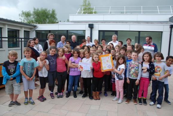 Concours des écoles fleuries - Prix national des jeunes jardiniers pour la classe de Sophie PRIEUR