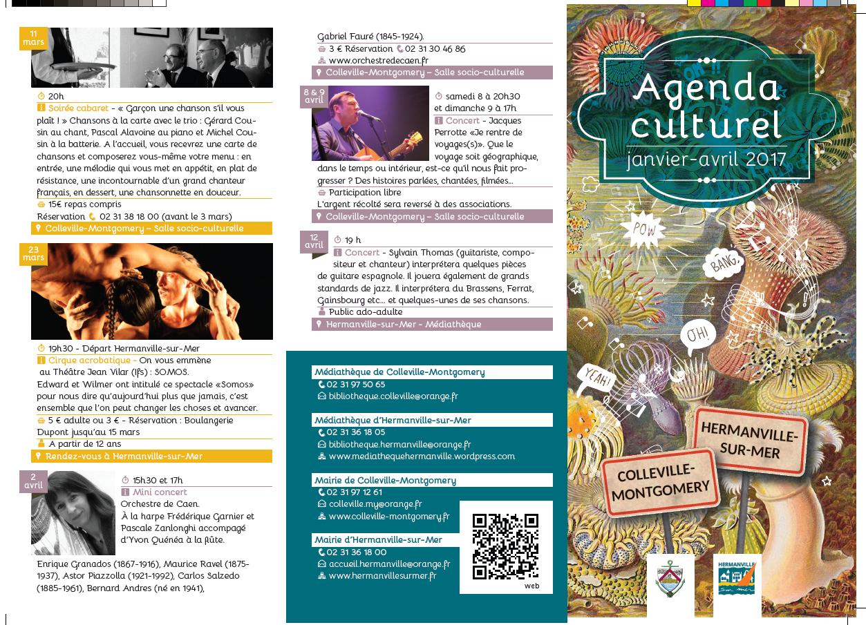 Agenda culturel 2017