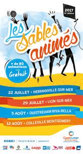 """11ème édition des """"sables animés"""" - Samedi 22 juillet à Hermanville sur Mer"""
