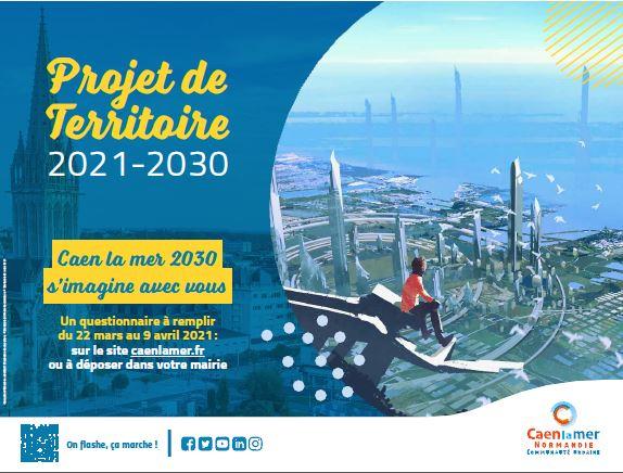 Pour écrire une nouvelle page de son histoire et se projeter dans le futur, la communauté urbaine de Caen la mer lance l'élaboration d'un projet de territoire à l'horizon 2030.