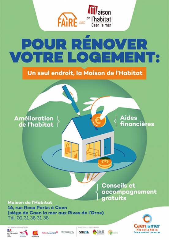 Pour rénover votre logement : Un seul endroit, la maison de l'habitat