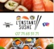 """Nouveau à Hermanville-sur-Mer, """"L'instant Sushi"""" tous les mercredi de 17h30 à 20h30 Place de la Liberté"""