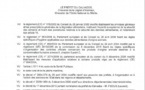 Arrêté préfectoral du 14 février 2019 - Interdiction temporaire de pêche à pied